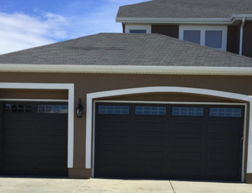 Garage door installation in South Jordan, Utah.